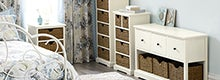 Cottage Ivory Bedroom Furniture Collection