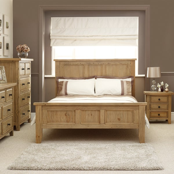Naples Pine Bedroom Furniture Collection