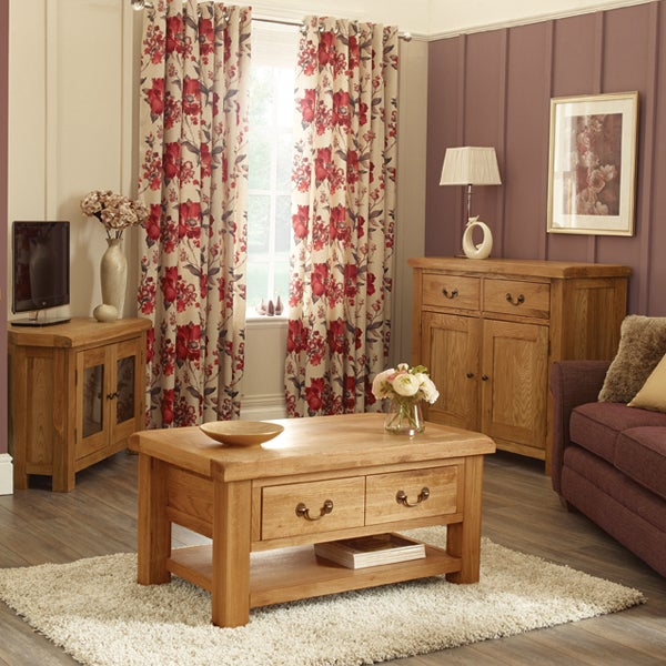 Wexford Oak Living Furniture Collection