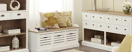 Bretagne White Bedroom Furniture Collection