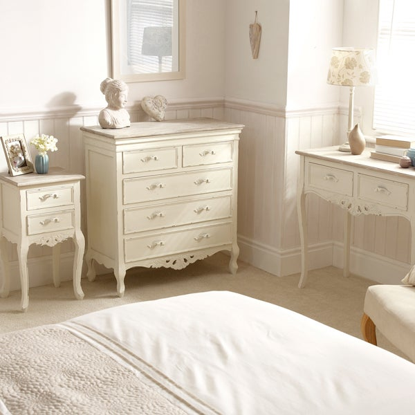 Camille White Bedroom Collection