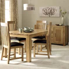 Seville Oak Dining Collection