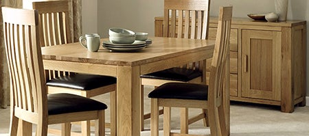 Seville Oak Dining Furniture Collection