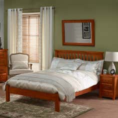Winchester Acacia Dark Wood Bedroom Furniture Collection