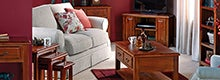 Winchester Acacia Dark Wood Living Furniture Collection