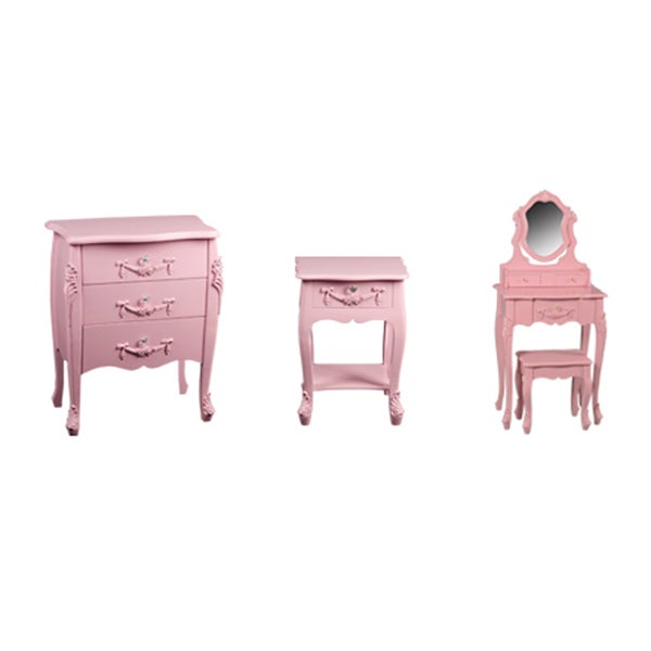 Kids Pink Toulouse Bedroom Collection
