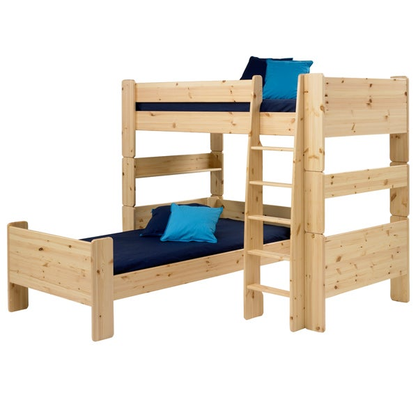 Kids Harper Pine High Sleeper Bedroom Collection