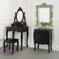 Toulouse Black Bedroom Furniture Collection