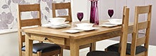 Stamford Natural Oak Dining Furniture Collection