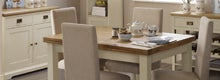 Penzance Two Tone Dining Furniture Collection