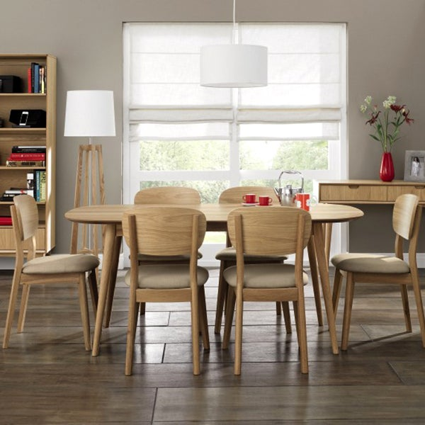 Skandi Oak Dining Furniture Collection