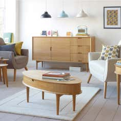 Skandi Oak Living Furniture Collection
