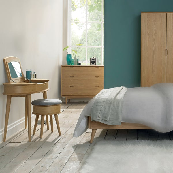 Skandi Oak Bedroom Furniture Collection