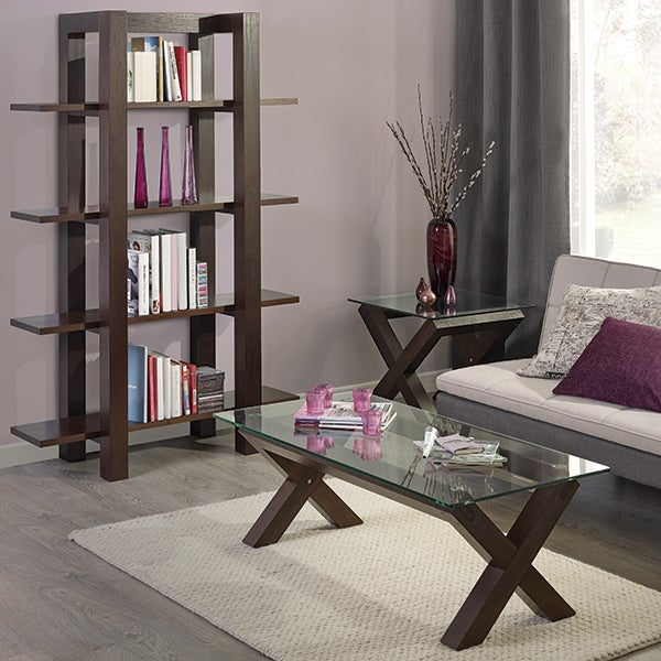 Knox Walnut Living Furniture Collection