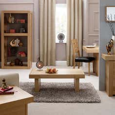 Wade Oak Living Furniture Collection