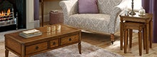 Madeline Oak Living Furniture Collection