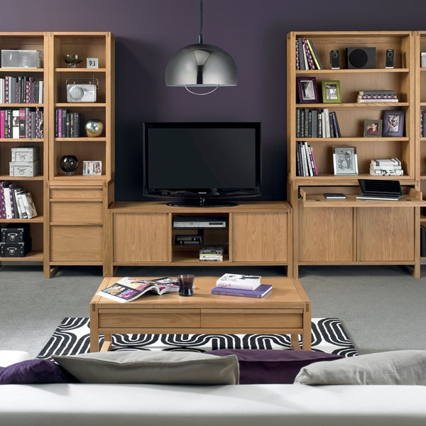 Edison Oak Living Furniture Collection