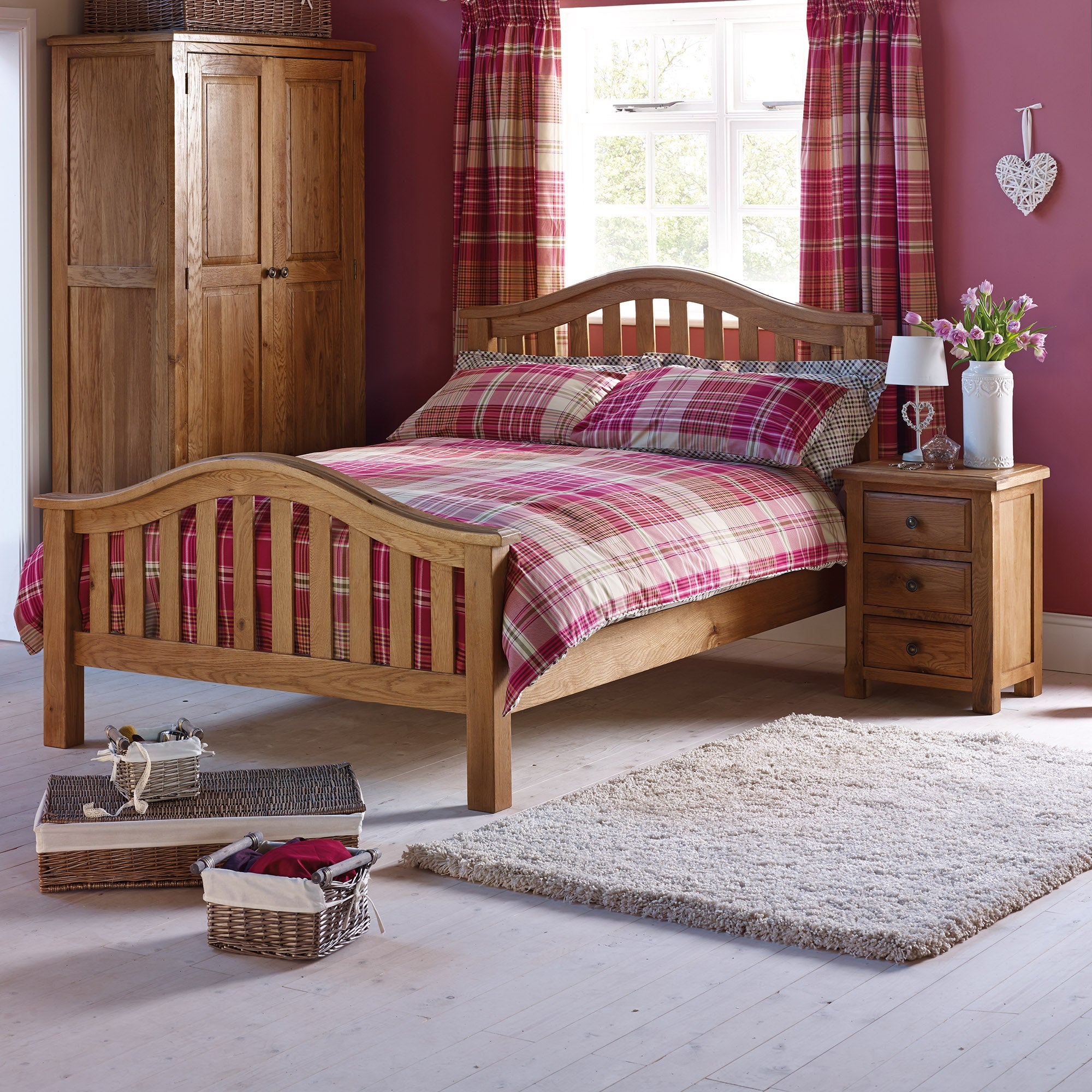 Gainsborough Oak Bedroom Furniture Collection