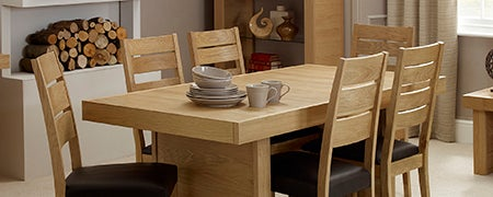 Wade Oak Dining Furniture Collection