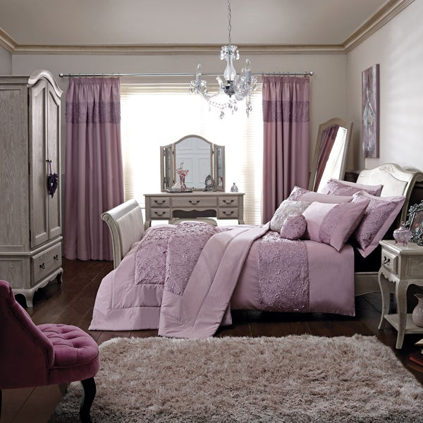 Grey Annabelle Bedroom Furniture Collection
