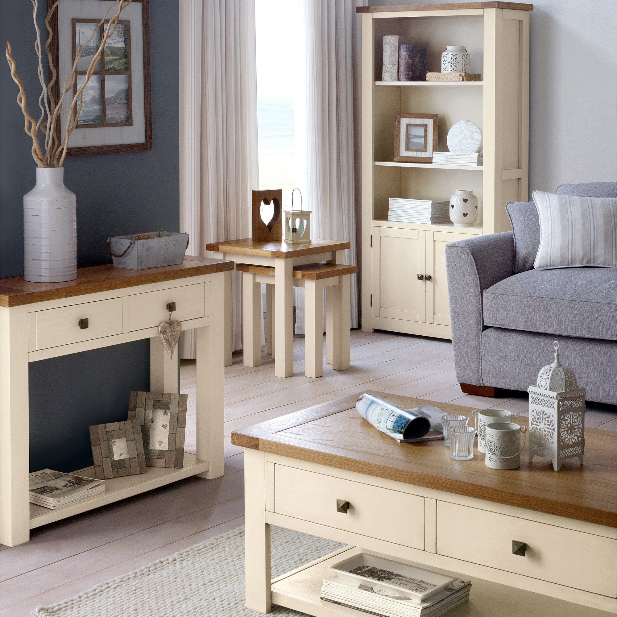 Henley Cream Living Furniture Collection