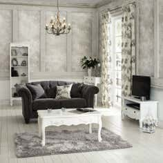 Toulouse White Living Furniture Collection