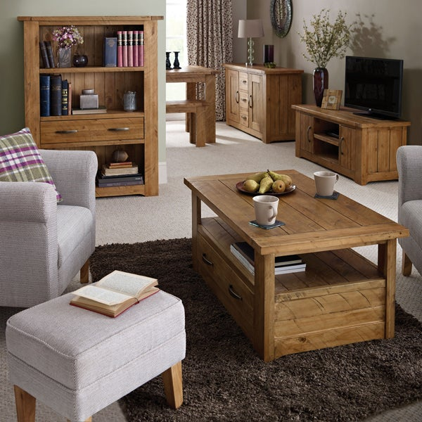 Loxley Pine Living Furniture Collection