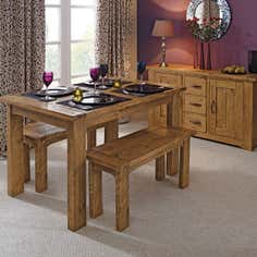 Loxley Pine Dining Furniture Collection