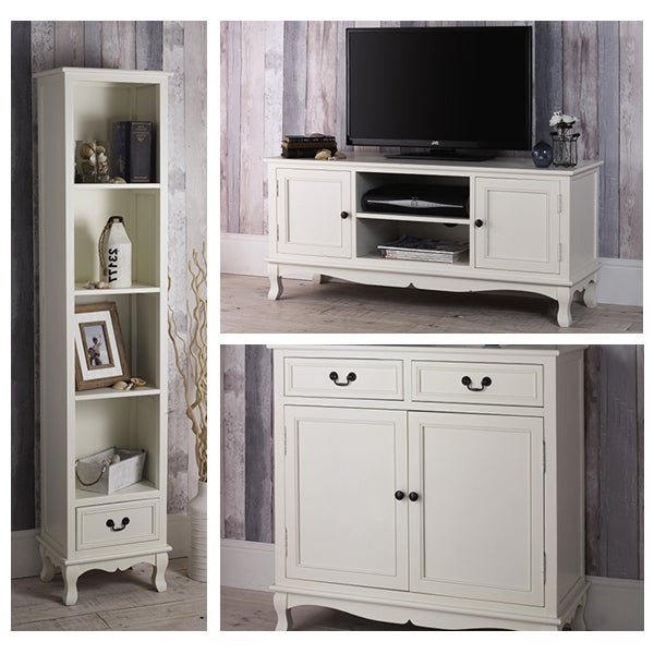 Bordeaux White Living Furniture Collection