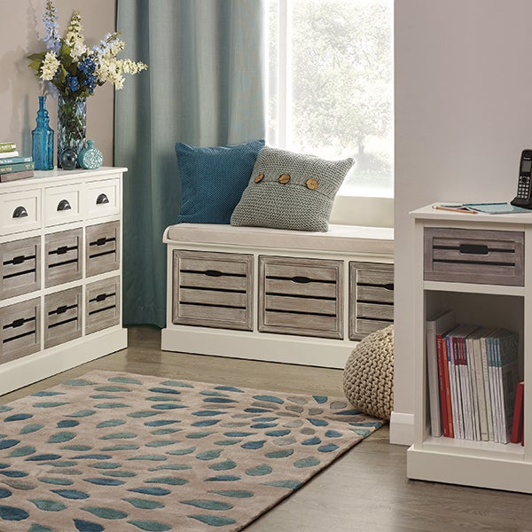 Atlanta White Living Furniture Collection
