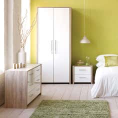 Indiana White Bedroom Furniture Collection
