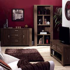York Walnut Living Furniture Collection