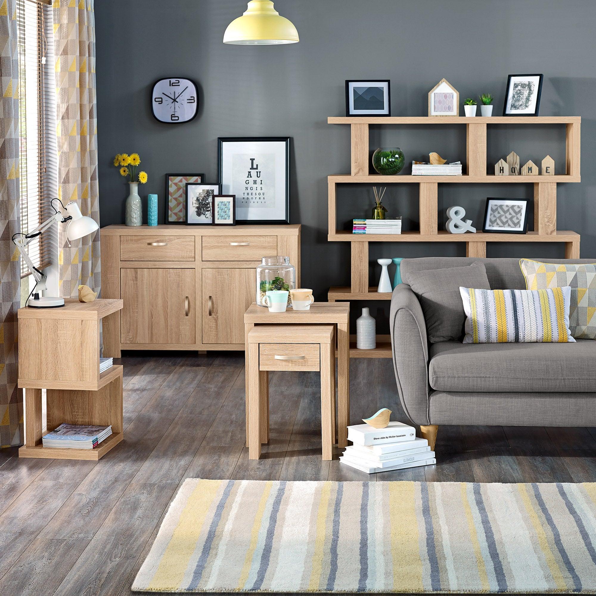 York Oak Living Furniture Collection Dunelm
