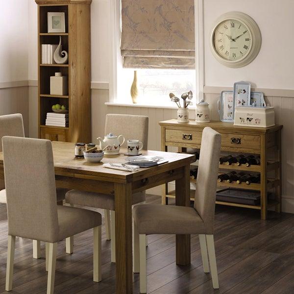 Penzance Oak Living Furniture Collection