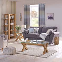 Knox Natural Oak Living Furniture Collection