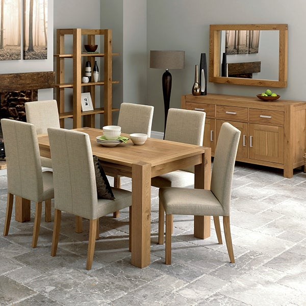 Knox Natural Oak Dining Furniture Collection