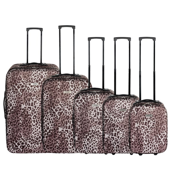 Faro Leopard Luggage Collection