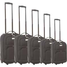 Faro Black Luggage Collection