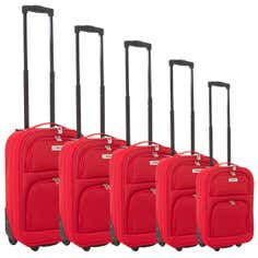 Faro Red Luggage Collection