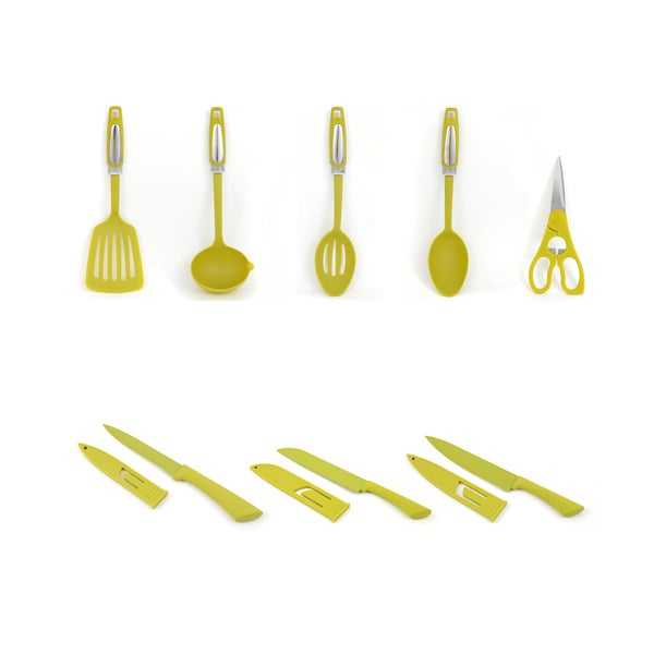 Lime Spectrum Utensils Collection
